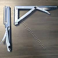 Консоль откидная DC 12350 хром 268 мм. для раскладного стола., фото 1