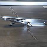 Консоль откидная DC 12350 хром 268 мм. для раскладного стола., фото 7