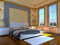 Полуторная кровать Novelty Гера без подъемного механизма 180*200