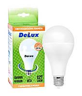 Лампа світлодіодна DELUX BL80 20 Вт 4100K Е27 білий, фото 1