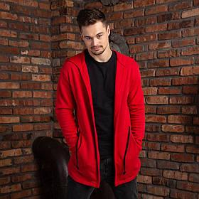 """Чоловіча мантія з капюшоном червоного кольору """"Dias"""""""