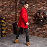 """Чоловіча мантія з капюшоном червоного кольору """"Dias"""", фото 4"""