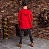 """Чоловіча мантія з капюшоном червоного кольору """"Dias"""", фото 5"""