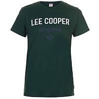 Футболка Lee Cooper Logo Vintage T Shirt Mens