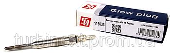 Свеча накала VW T5/Crafter (7V) (M10x1mm) SOLGY 116033