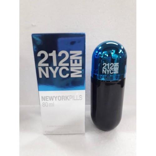Парфюм мужской Carolina Herrera 212 NYC Men Pills 80 ml