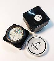 Акриловая пудра цветная 3Д для дизайна ногтей CP064