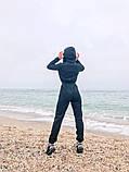 Теплый комбинезон женский Трехнитка с начесом Размер 42 44 46 В наличии 3 цвета, фото 3