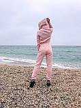 Теплый комбинезон женский Трехнитка с начесом Размер 42 44 46 В наличии 3 цвета, фото 4