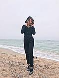 Теплый комбинезон женский Трехнитка с начесом Размер 42 44 46 В наличии 3 цвета, фото 5
