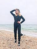 Теплый комбинезон женский Трехнитка с начесом Размер 42 44 46 В наличии 3 цвета, фото 6