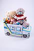 Дитячий пуф Автобус Поліція, фото 2