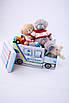 Дитячий пуф Автобус Поліція, фото 3