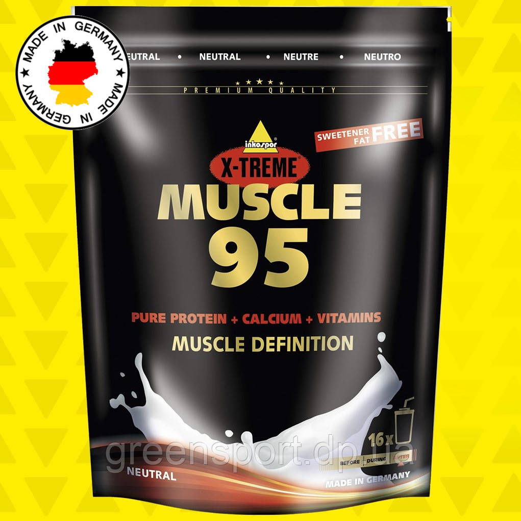 Протеин Inkospor X-Treme Muscle 95 (500 г) Без вкуса