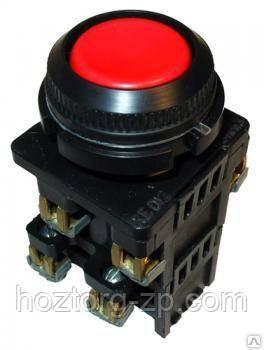 Кнопка КЕ-011 исп.3(красная)