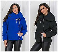 Стильна жіноча куртка на зав'язках 17903, фото 1