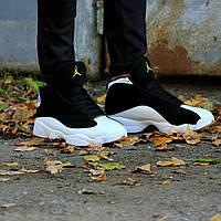 """Кроссовки мужские Nike Air Jordan Retro Black """"Черные высокие"""" р. 41-46"""