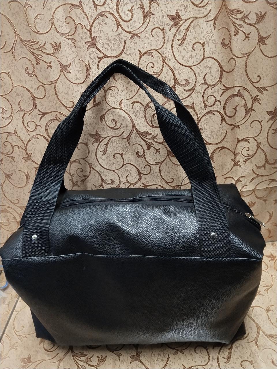 ce5f3056a480 Женская сумка GUCCI эко кожа (черная) 24*38*15.5: продажа, цена в ...