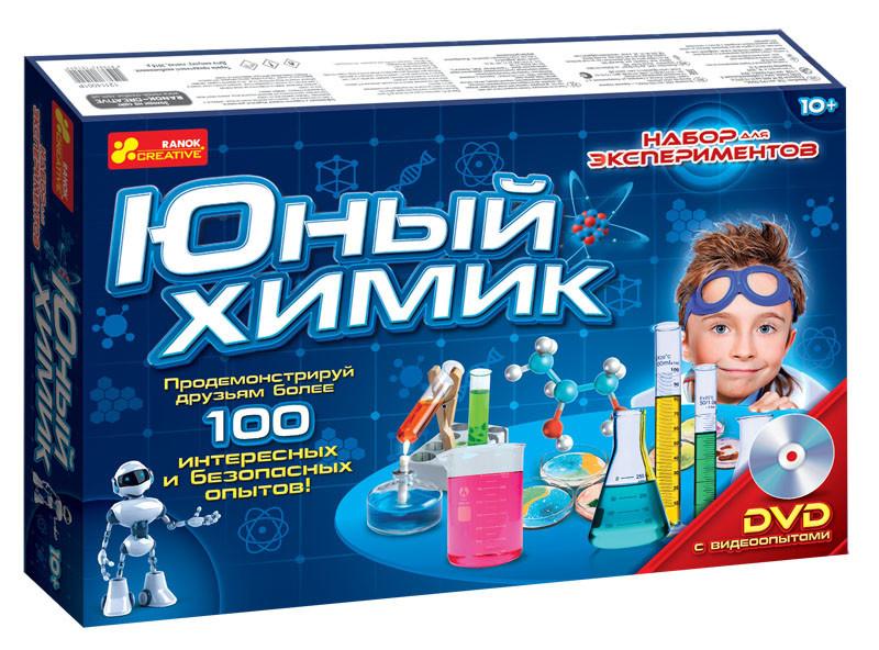 """Ранок Кр. 0306 Набір """"Юний хімік"""""""
