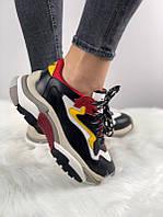 """Кроссовки женские кожаные Ash Addict Sneakers """"Разноцветные"""" р. 36-39"""