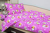 Постельное белье для подростков Lotus Young Hello Kitty Star V1 розовый ранфорс