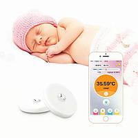 Термометр BT15 для дітей бездротовий інтелектуальний для iOs і Android, вимірювання через Bluetooth, білий, фото 1