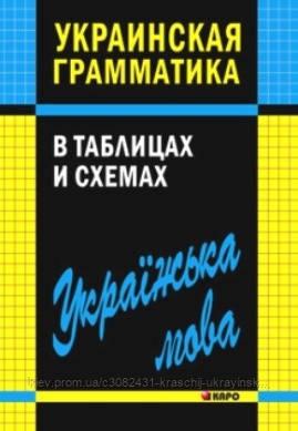 Українська граматика в таблицях і схемах Мущинская Ст. Ст. видавництво Каро.