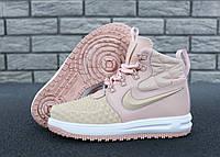 """Кроссовки женские Nike Air Force Lunar """"Розовые"""" р. 36-40, фото 1"""