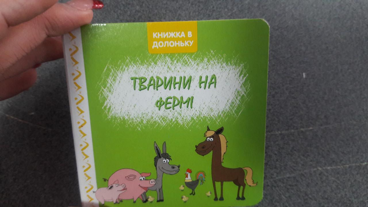 Бурун КМ Тварини на фермі (У)