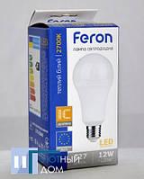 Світлодіодна лампа Feron LB-702 12W 2700K E27