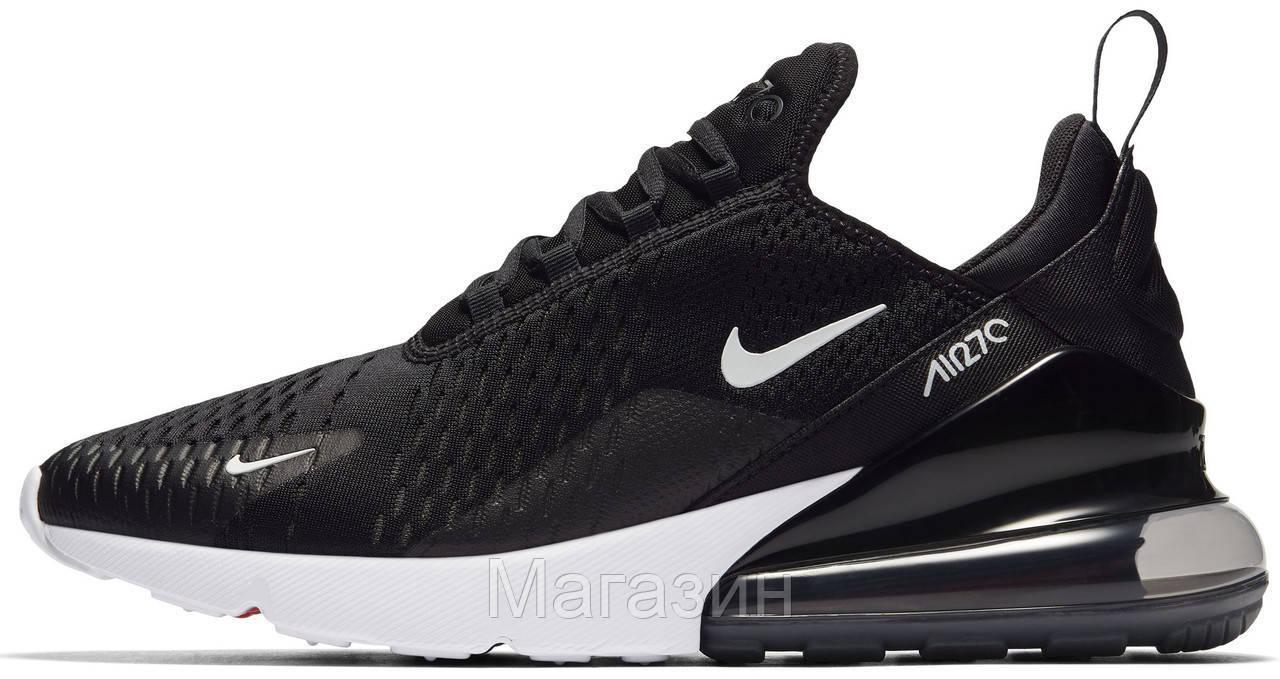 3d8117cfd Мужские спортивные кроссовки Nike Air Max 270 Black/White (в стиле Найк Аир  Макс