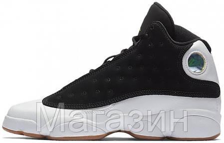 8093b959a7f5 Баскетбольные кроссовки Nike Air Jordan Retro 13 White/Black Найк Аир  Джордан 13 Ретро белые