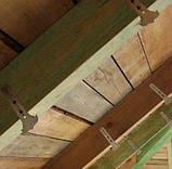 Тримач профіля CD для утеплення даху 160 мм товщина 1 мм, фото 2