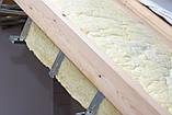Тримач профіля CD для утеплення даху 160 мм товщина 1 мм, фото 3