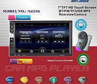 Автомагнитола 2Din Pioneer 7043CRB USB,SD, Video + пульт на руль, фото 1