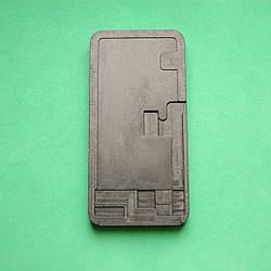 Коврик для склейки дисплейного модуля Apple iPhone X с вырезом под шлейф