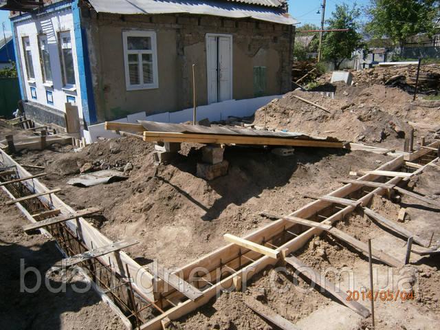 Фундамент под дом, фото
