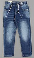 Джинсовые брюки для мальчиков S&D оптом, 8-18 лет., фото 1