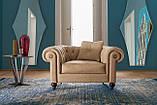 Класичні італійське крісло ALFRED фабрика ALBERTA (Італія), фото 3