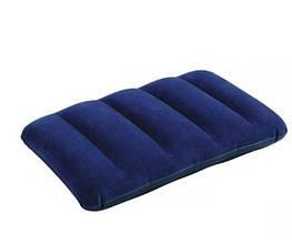 Надувная подушка флокированная Intex 68672