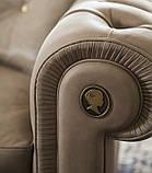 Класичні італійське крісло ALFRED фабрика ALBERTA (Італія), фото 5