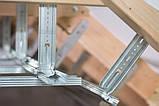Тримач профіля CD для утеплення даху 180 мм товщина 1 мм, фото 4