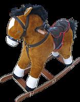 Каталка-коник Вулик мякий великий 909 коричневий