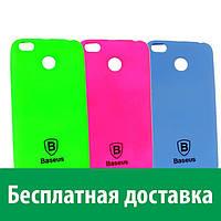 Матовый чехол Baseus Lustre для Xiaomi Redmi 4X (Сяоми (Ксиаоми, Хиаоми) Редми 4 икс, Редми 4х)