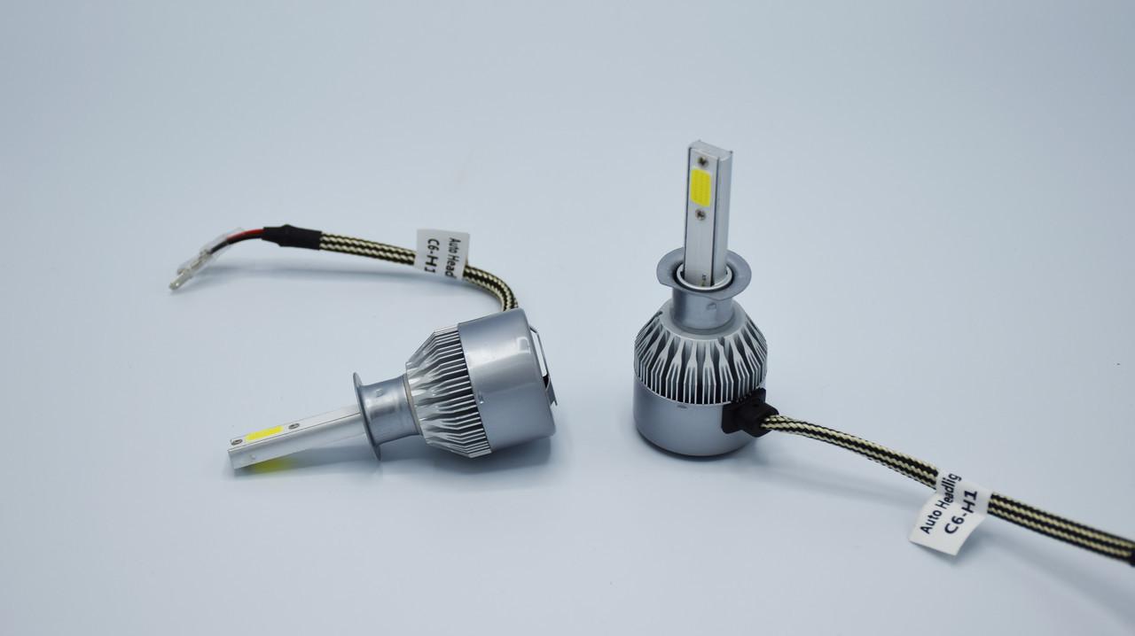 Комплект светодиодных ламп головного света LED C6/ H1 светодиодная фара основного света