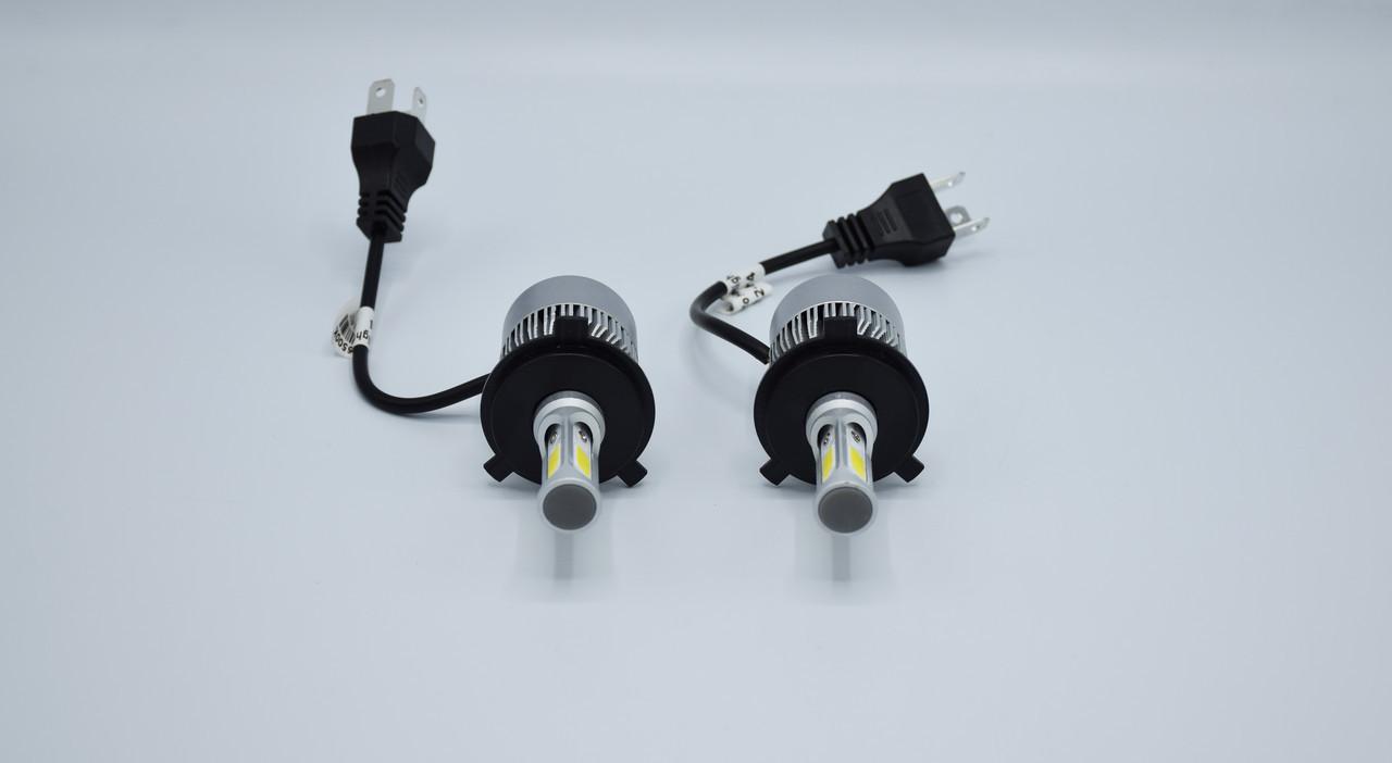Комплект светодиодных ламп головного света LED S2 H4 светодиодная фара основного света