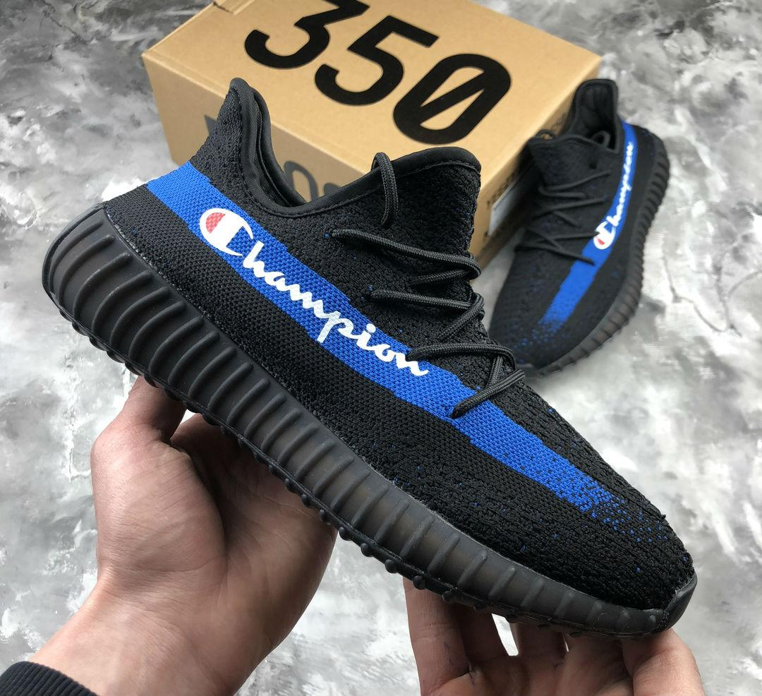 newest collection ad1f3 ca147 Adidas Yeezy Boost 350 x Champion | кроссовки мужские; летние; черные