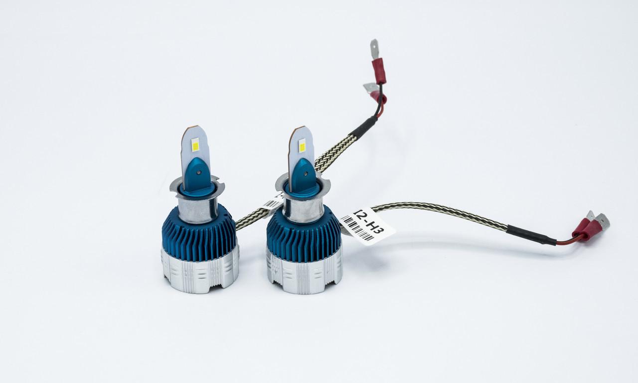 Комплект светодиодных ламп головного света Mi2-H3 LED лампы головного света/12v/6000K/3000Lm