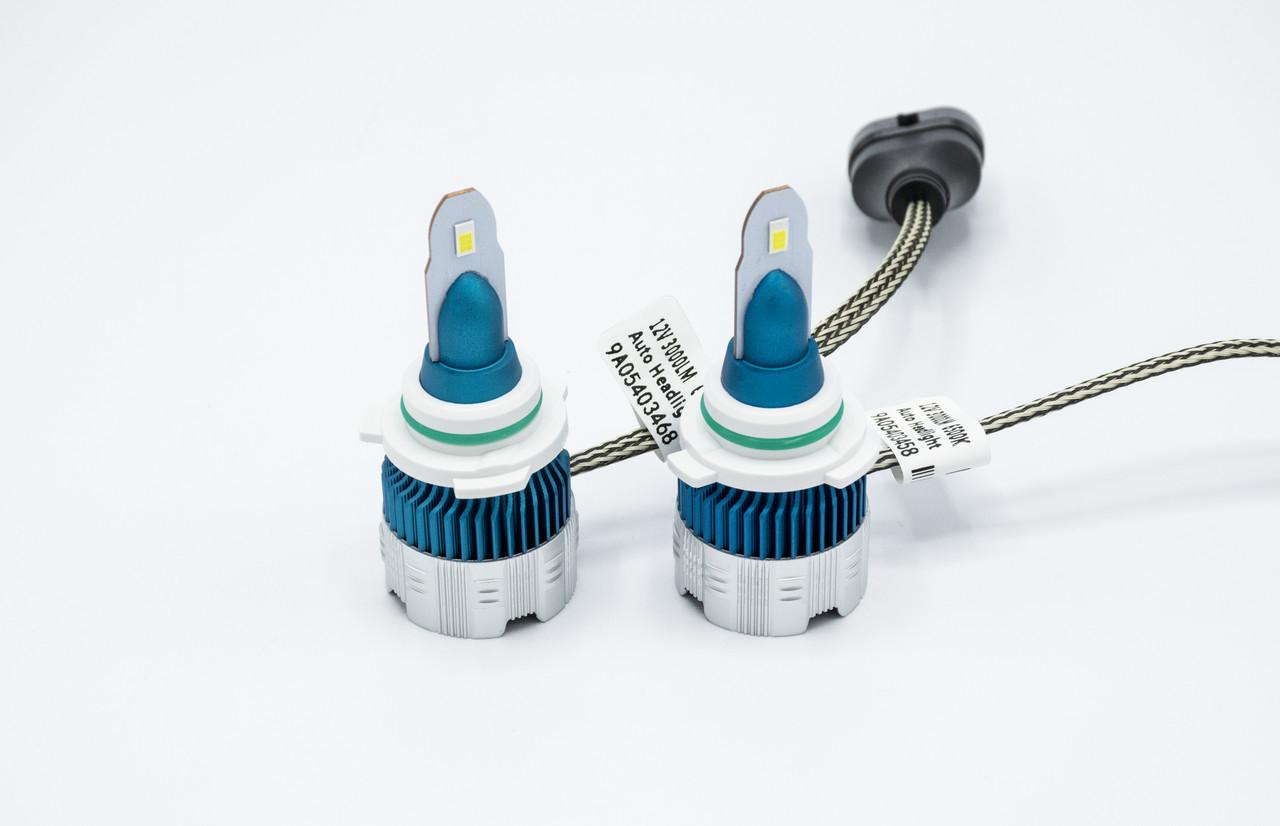 Комплект светодиодных ламп головного света Mi2-HB4 (9006) LED лампы головного света/12v/6000K/3000Lm