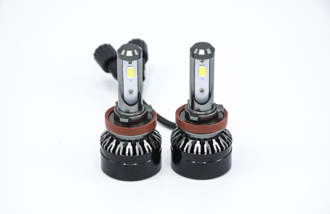 Комплект светодиодных ламп головного света D6-H11 LED /12-24v/5000Lm/6000K светодиодная фара основного света
